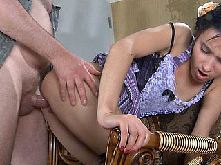 Veronica&LeonardB oldman and juvenile lady