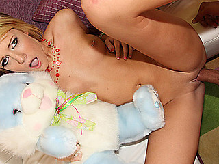 Cute Riley Ray acquires her virginal Bawdy cleft Fucked!