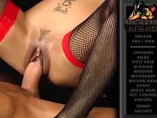 Latina slut leans back and rides his thick and sexy hardon