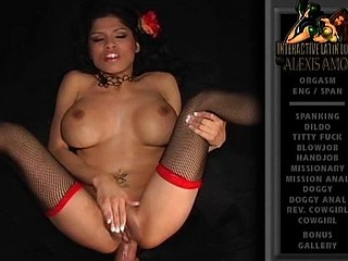 Breasty Latina Alexis Amore is getting her ass stuffed with cock