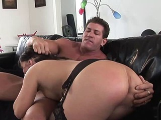 Dirty angel Katje likes her ass dicked