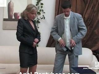 Benett&Lewis mindblowing anal hose movie