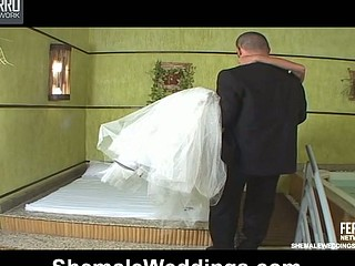 Marcela desirous transsexual bride