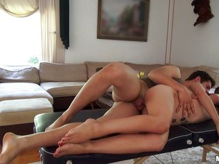 perfect ass latina riding her lad