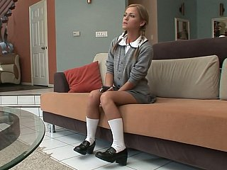A priceless schoolgirl acquires hardcored