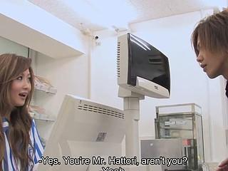 Hibiki Ohtsuki gets screwed at work hardcore