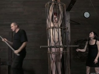 Sweet darling is waiting for her hot and coarse torture