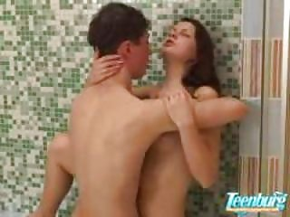 Banned Incest Brother and Sister in Shower