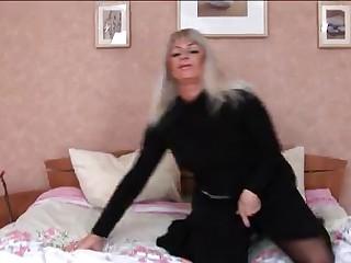 HORNY BUSTY SEXY Older GANGBANGED  -B$R