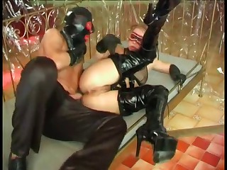 Happiness is warm latex and boot