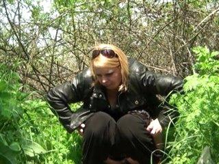 Sex in the bush porn video