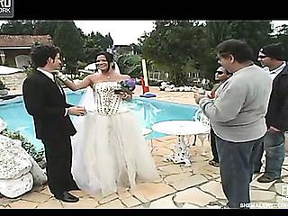 Carol cheeky shemale bride