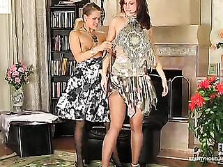 Jaclyn&Susanna nasty hose movie scene