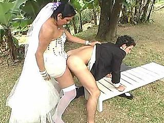 Carol slutty tranny bride