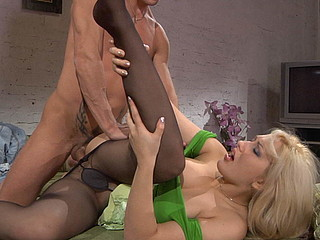 Flossie&David perverted hose job episode