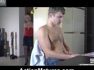 Ottilia&Jerry raging mature action
