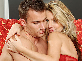 Experienced cougar janine swallows a jock with her desirous mouth