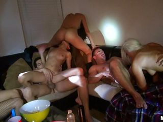 orgy with hot asses college girls