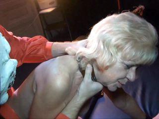 blonde ganny receives punished hard