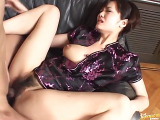 Hawt Oriental Fucking And Engulfing With Her Hawt Japanese Outfit