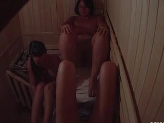 Czech Sauna Reality Footage of Stripped Czech Girls