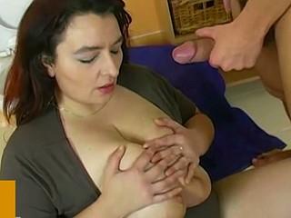 Big dick bonks older with big boobs