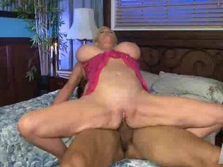 Sexy Breasty Blonde Granny Cougar
