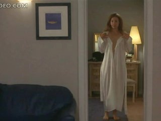 Heart-Stopping Blonde Babe Alex Kingston Shows Her Bush and Boobs