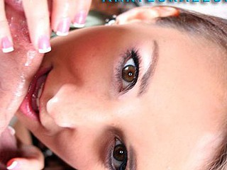 Hard Body Brunette Hair Fucked And Mouth Creamed