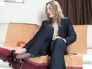 Natalie hose tease movie scene