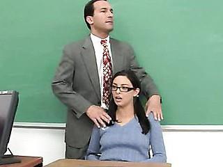 Naive girl & older cock