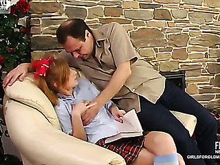 Emilie&Hubert dad sex action