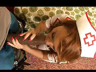 Nurse Janet receives boned!!
