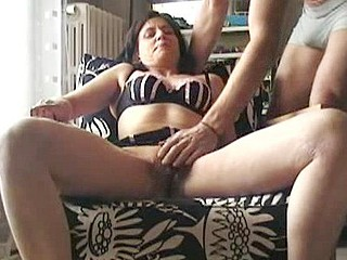 Cock Engulfing Wife Squirts Also