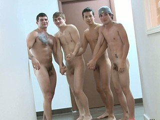 Naked basketball team, have a fun