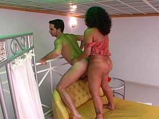 Penelope t-girl bonks guy clip