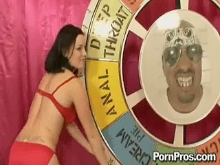 Two whore Tatiana and Naomi battle for Alpha Floozy status!