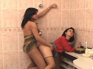 Michele transsexual dicking angel on movie scene