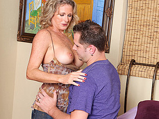 Favourable dude gets to fuck my allies hawt blond mamma